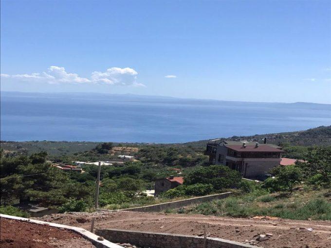 Çanakkale Ayvacık Kayalar/Satılık 1 Dönüm Köy İmarlı Arsa