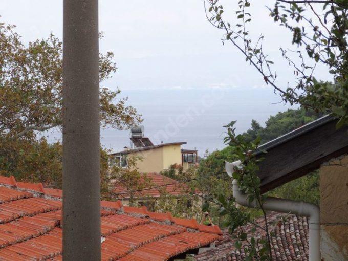 Çanakkale Ayvacık Küçükkuyu Yeşilyurt/Satılık Taş Ev