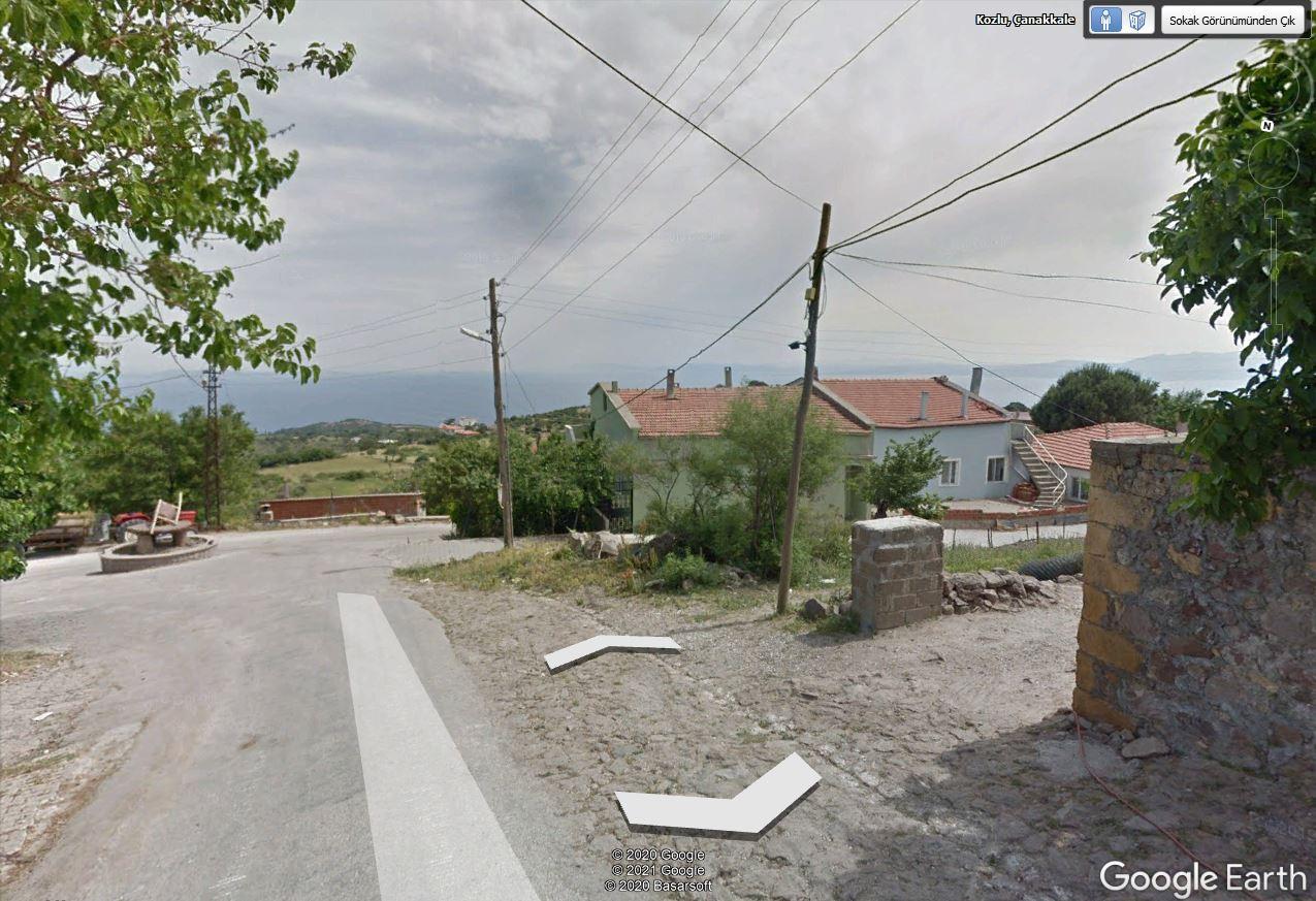 Çanakkale Ayvacık Kozlu/Satılık Köy İmarlı Arsa