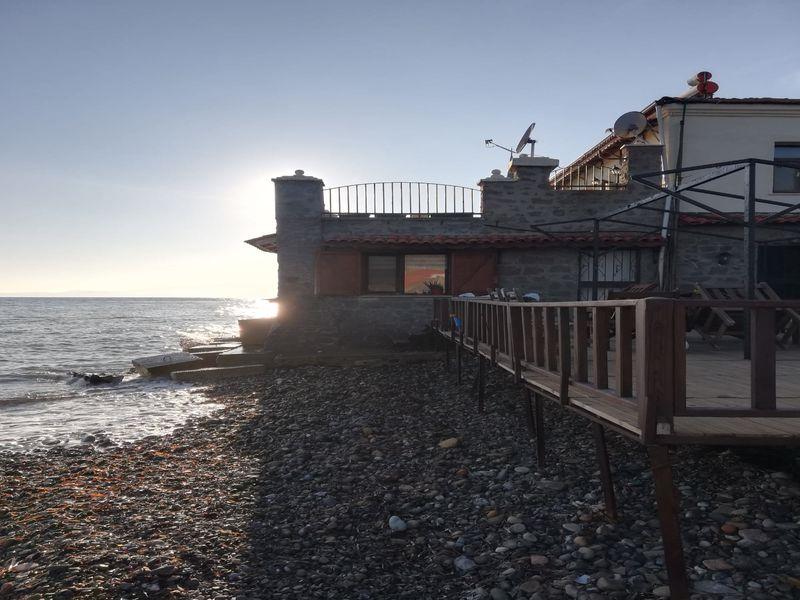 Çanakkale Ayvacık Ahmetçe/Satılık Denize Sıfır Taş Ev