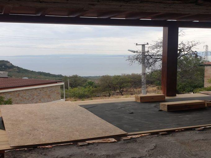 Çanakkale Ayvacık Kayalar/Satılık Natamam Taş Ev