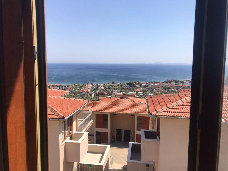 Çanakkale Ayvacık Küçükkuyu/Satılık Natamam 3+1 Villa